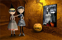 Halloween13 Greeting Card (55x85)
